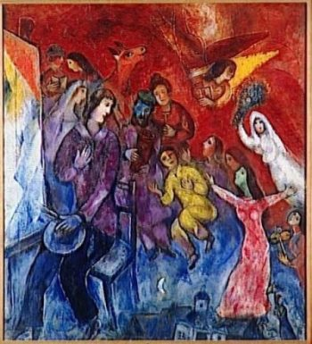 Marc-Chagall-The-Appearance-of-the-artist_s-family